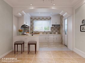欧式风格小户型厨房装修效果图