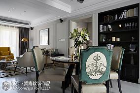 2018精选96平米三居餐厅混搭欣赏图片