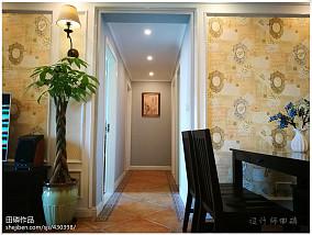 精美100平米三居客厅美式效果图