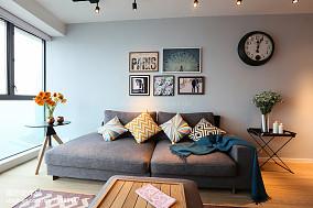 热门面积95平三居客厅装修设计效果图