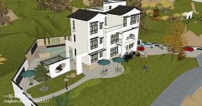 新古典家居房屋墙面装潢图片