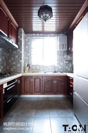 热门东南亚三居厨房装修效果图片欣赏