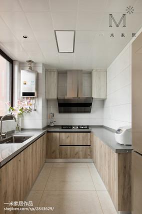 温馨101平现代三居厨房图片欣赏