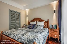 精美二居卧室美式装修图片
