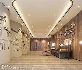 欧式浪漫风格样板房走廊---KSL设计