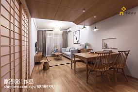 热门日式小户型餐厅装修设计效果图片
