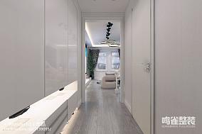 客厅现代极简风格效果图