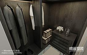 简中式主卧室装修效果图2014
