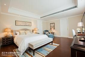 2018精选面积93平新古典三居卧室装修设计效果图片欣赏