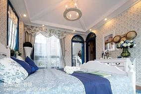 热门复式卧室地中海装饰图片欣赏