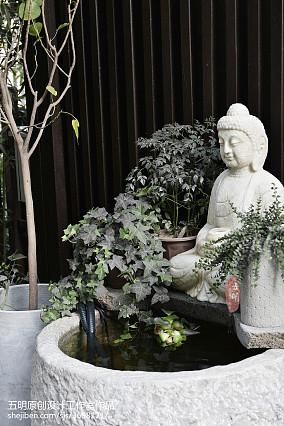 精选123平米混搭别墅花园装饰图
