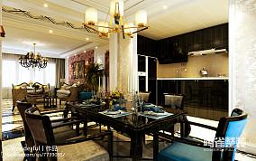 小面积的餐厅和客厅隔断效果图