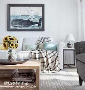 低调简约式家装客厅装修图