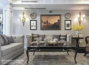精选112平米四居客厅简欧实景图片欣赏