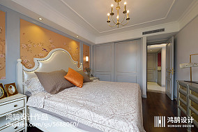 热门大小100平现代三居卧室欣赏图