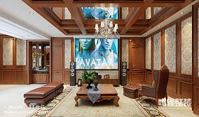 美式古典风格复古厨房图片