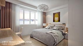 81平米简约小户型卧室装修效果图片
