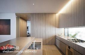 热门100平米三居厨房现代装修设计效果图片欣赏