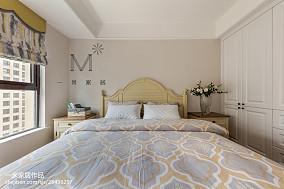 精选面积100平美式三居卧室实景图片大全