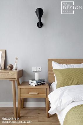 2018精选82平米北欧小户型卧室装饰图片大全