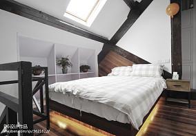 混搭风格二居卧室设计图