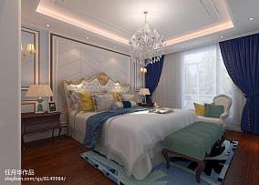 热门面积126平别墅卧室实景图片欣赏