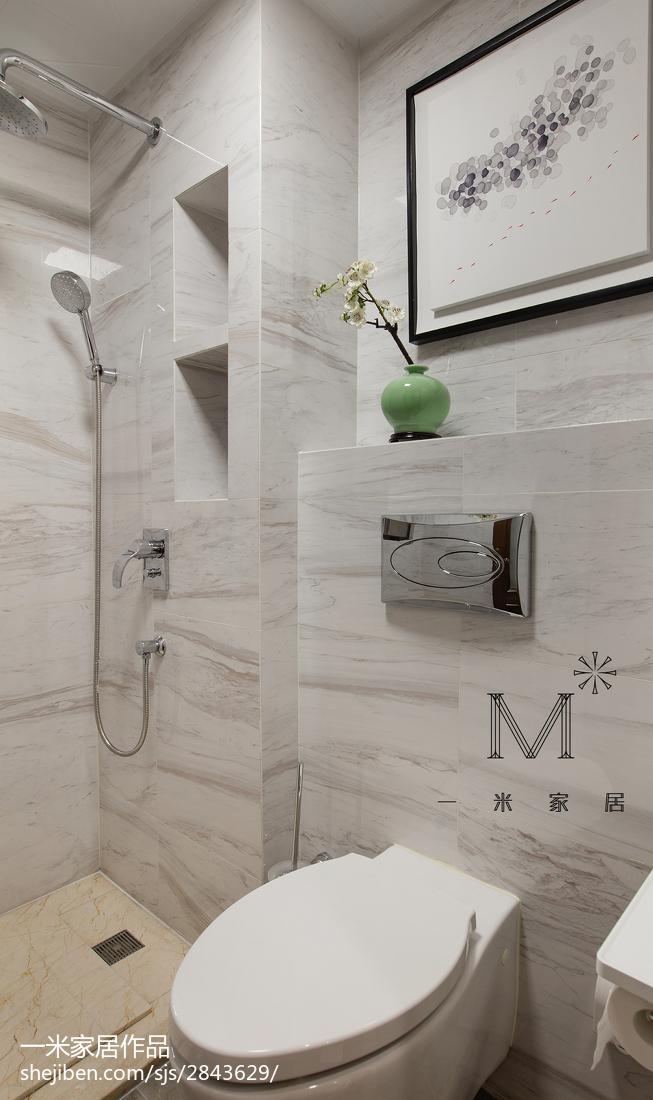 165m²新中式卫浴设计图