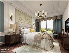 自然客厅竹窗帘装饰