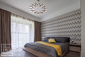 95平米三居卧室现代装修设计效果图片大全