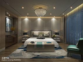 精美138平米现代复式卧室装饰图片