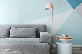 典雅25平北欧小户型客厅效果图欣赏