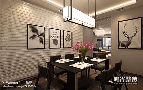 复古青庭中式厨房设计