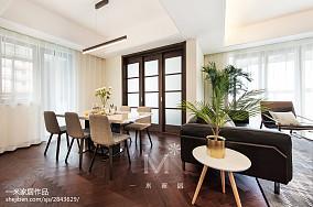 热门大小101平现代三居餐厅欣赏图片大全