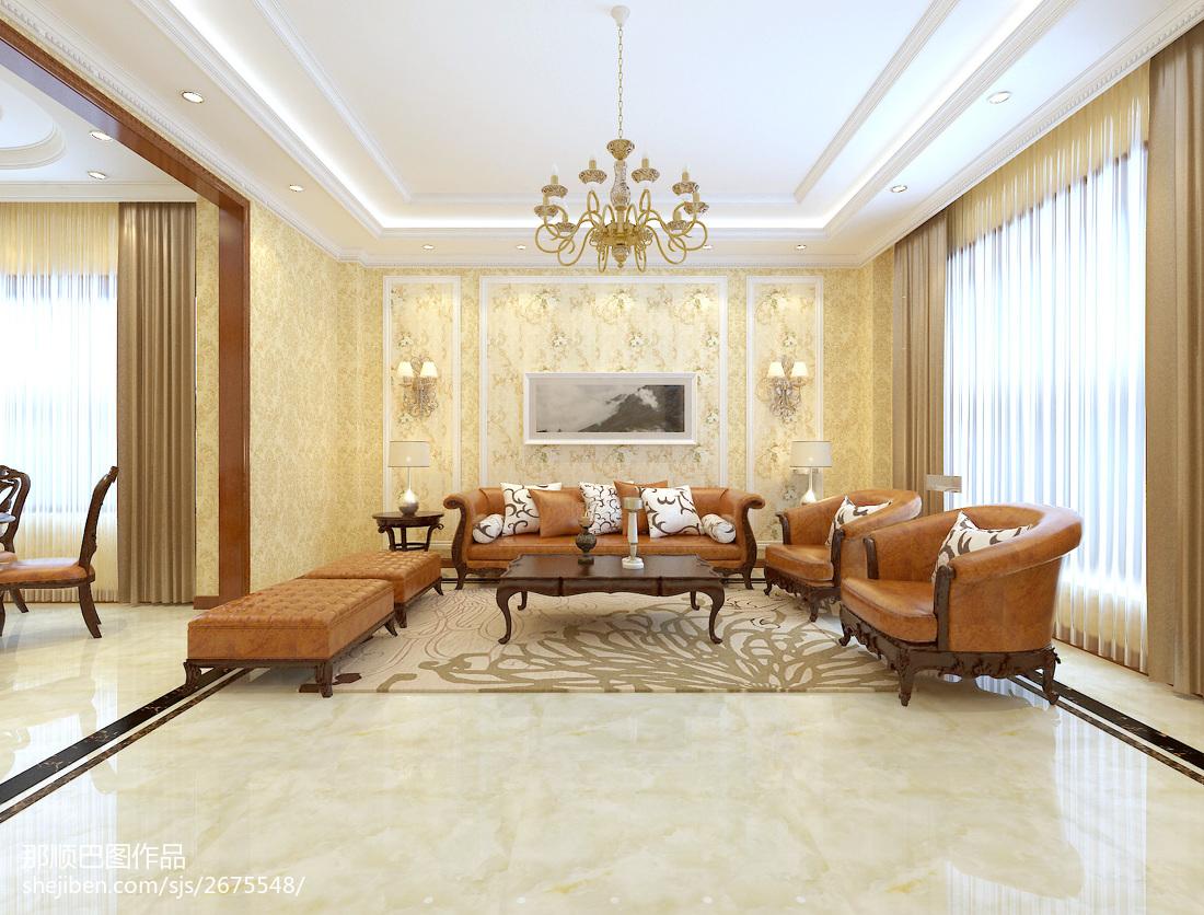 简约客厅电视墙设计