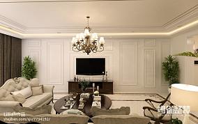 质朴22平混搭小户型客厅设计美图