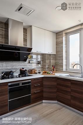 现代风格三居厨房设计图