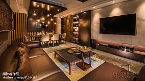 精选136平米四居客厅设计效果图