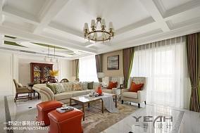 美式豪宅客厅设计图片