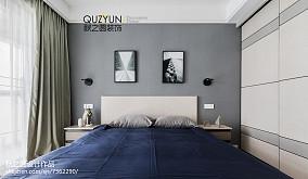 精选100平米三居卧室现代装修效果图片欣赏