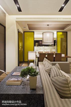 休闲90平米两室两厅房子图片