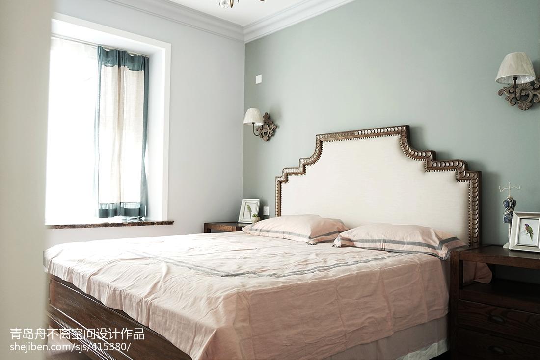 美式风格三居卧室设计图片