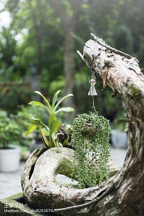 热门日式三居花园欣赏图片大全