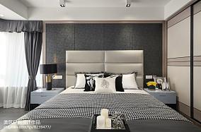 简单现代三居卧室设计图