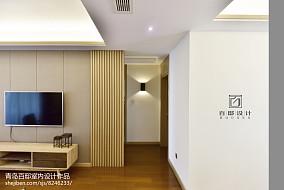 2018精选中式二居客厅效果图片