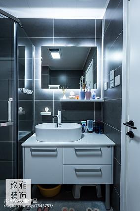简约二居卫浴设计图片