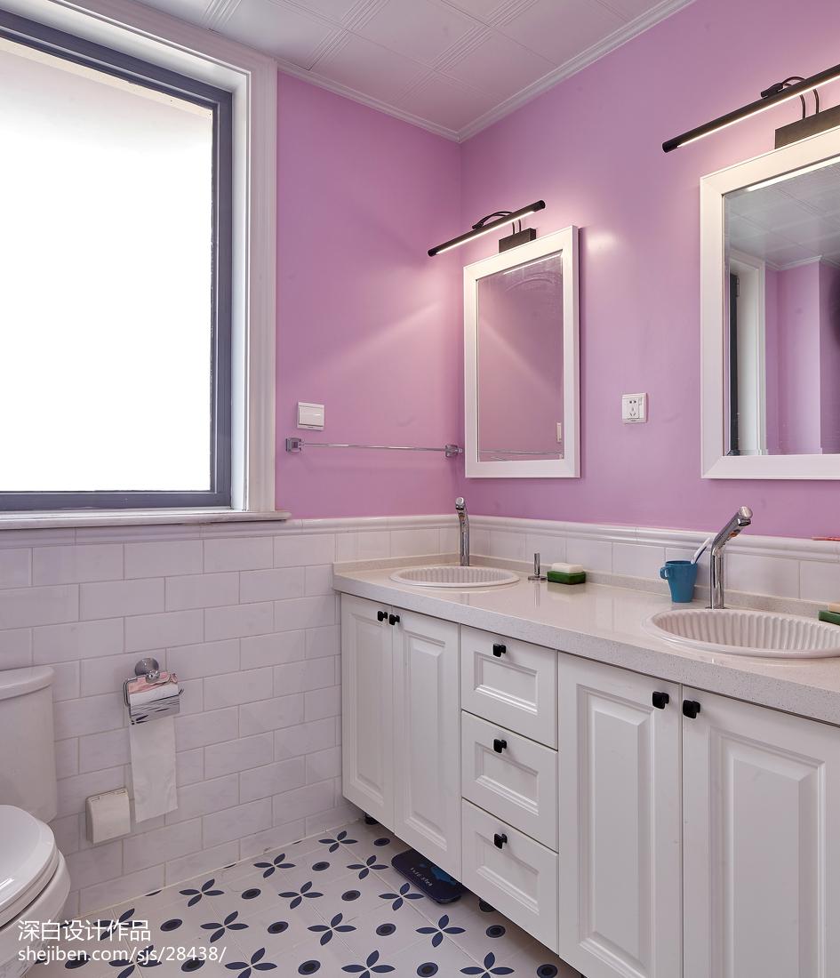 混搭四居卫浴设计效果图