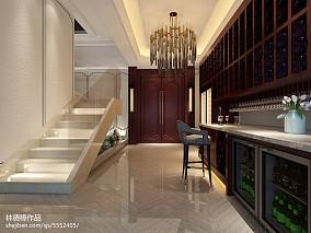 现代简约公寓客厅装修样板间图片