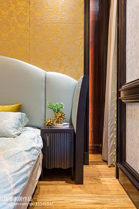 2018121平米新古典别墅卧室装饰图片欣赏
