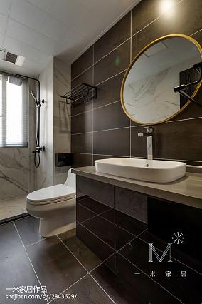 201890平方三居卫生间现代装饰图片