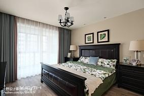 美式小三居卧室设计图片